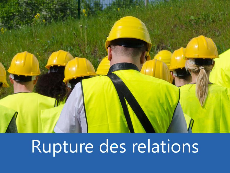 rupture des relation chantier 79, problème durant le chantier Deux Sèvres, stress chantier 79, problème durant le chantier Niort,