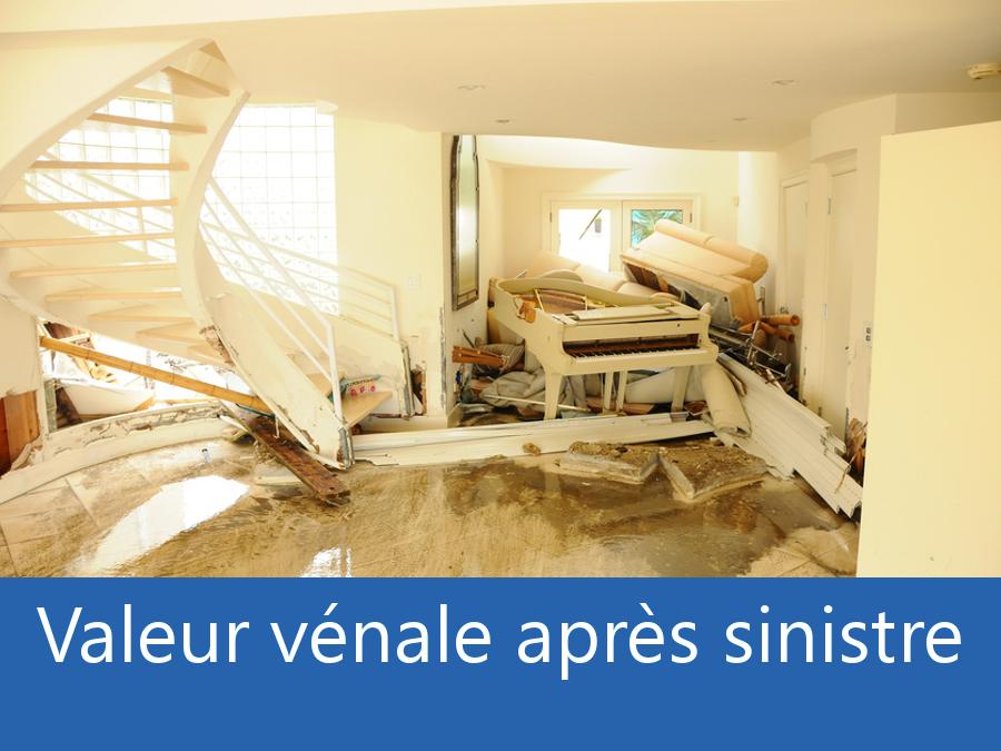 valeur vénale après sinistre Deux Sèvres, valeur dégâts après sinistre 79, avis valeur sinistre Niort,