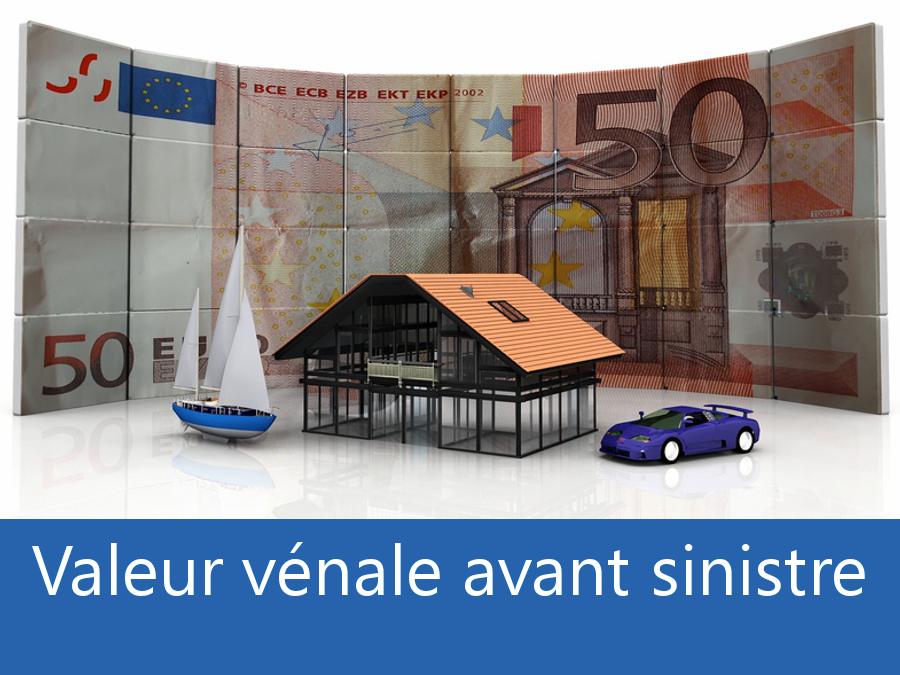Valeur vénal avant sinistre Deux Sèvres, valeur des biens assurance 79, expert valeur vénale Niort,